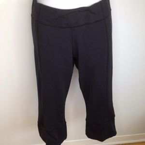 Lululemon Black Capris Yoga Pants